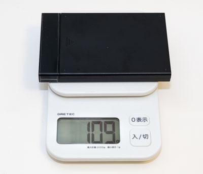 外付けSSD重量