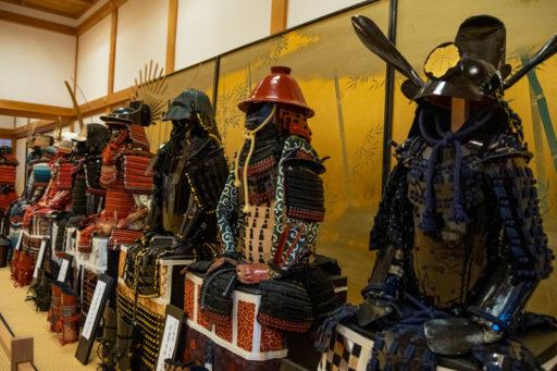 篠山城の甲冑