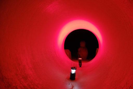 トンネル撮影 色合わせ