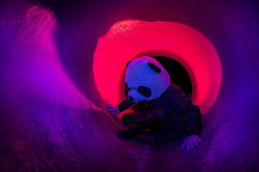 トンネル撮影 カラーフィルター