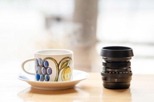 パラティッシのコーヒーとXF35