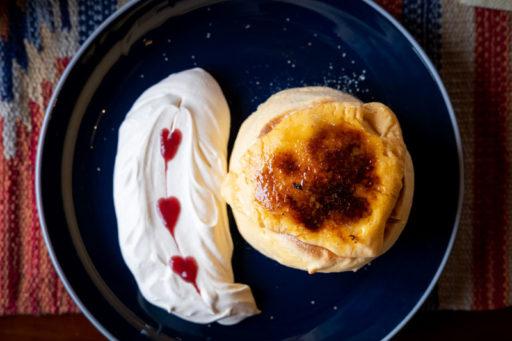 牛窓カフェEASEのパンケーキ