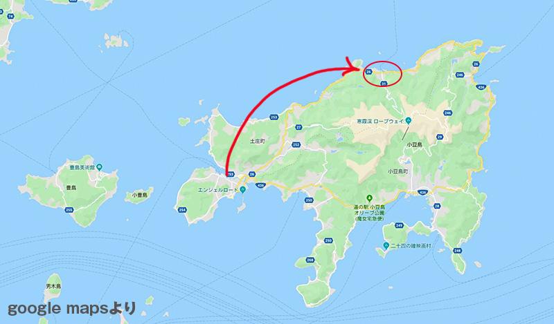 小豆島大部地区